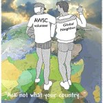 American World Service Corps volunteer