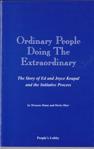 Story of Ed & Joyce Koupal's People's Lobby